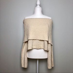 NWT Aerie off the shoulder sweater